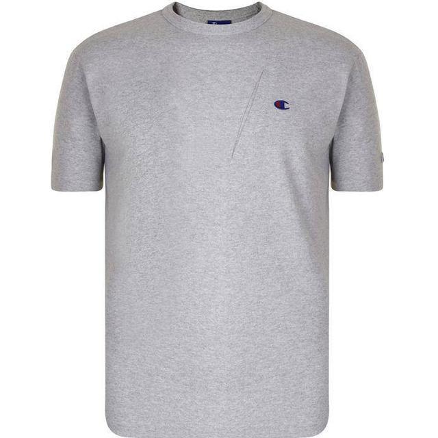 Champion X Beams Asymmetric Pocket T-shirt Light Grey