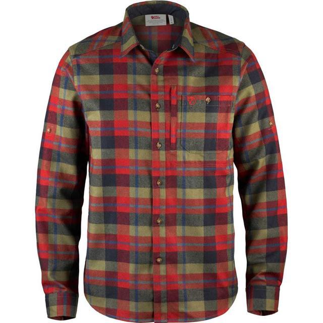 Fjällräven Fjällglim Shirt - Deep Red