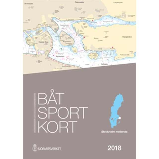 Båtsportkort Stockholm Mellersta 2018