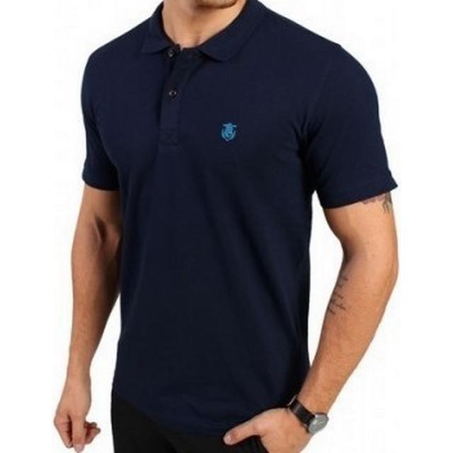 Selected Haro Polo T-shirt Peacoat Blue