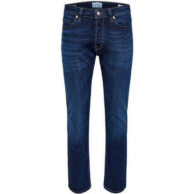 Only & Sons Weave Regular Fit Jeans Blue/Dark Blue Denim
