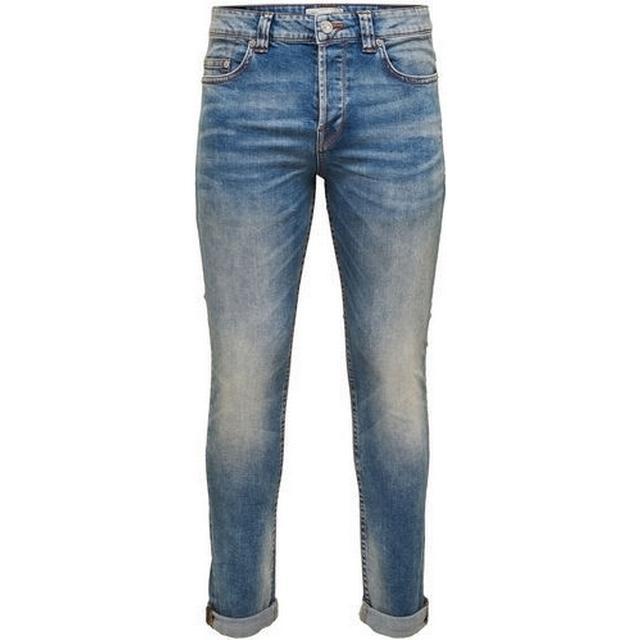 Only & Sons Loom Slim Fit Jeans Blue/Light Blue Denim