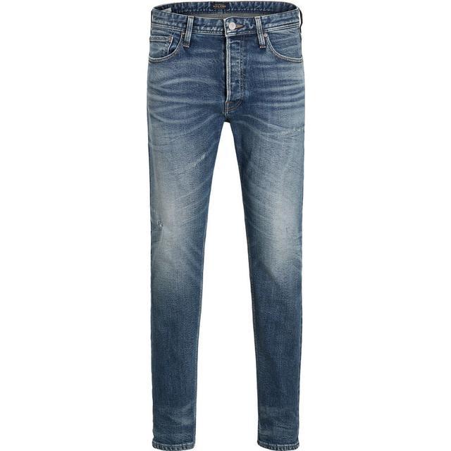 Jack & Jones Fred Original 066 AW24 Anti Fit Jeans - Blue/Blue Denim