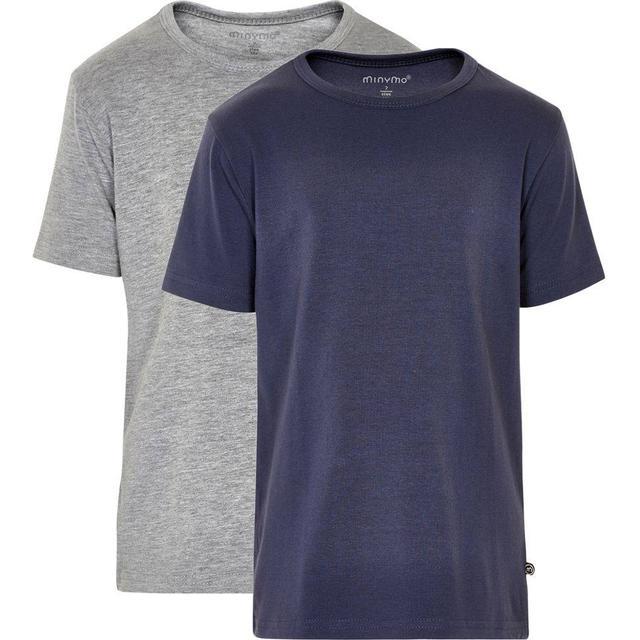 Minymo T-shirt 2-Pak - Dark Navy (3932-778)