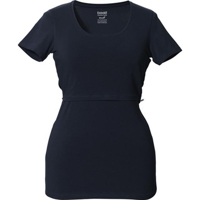 Boob Classic Short Sleeved Top Midnight Blue