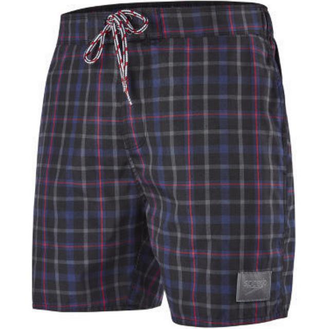 """Speedo YD Check Leisure 16"""" Shorts M"""