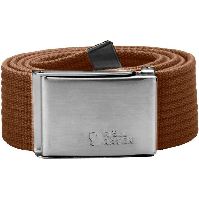 Fjällräven Canvas Belt Unisex - Chestnut