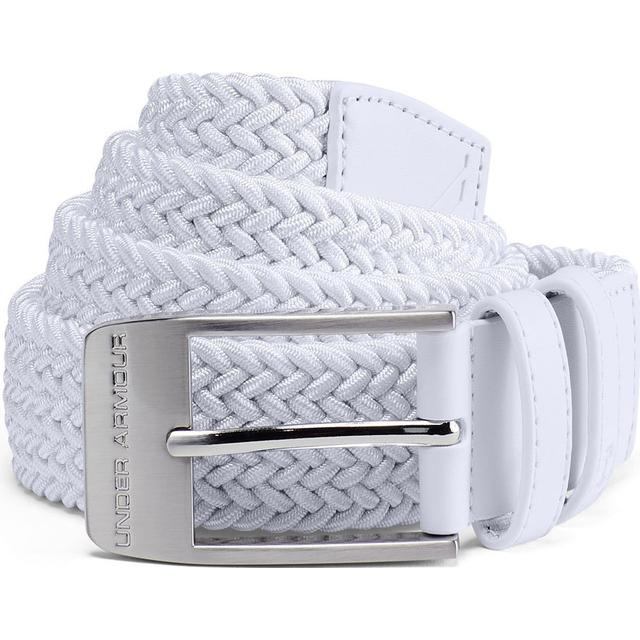 Under Armour Braided 2.0 Belt White