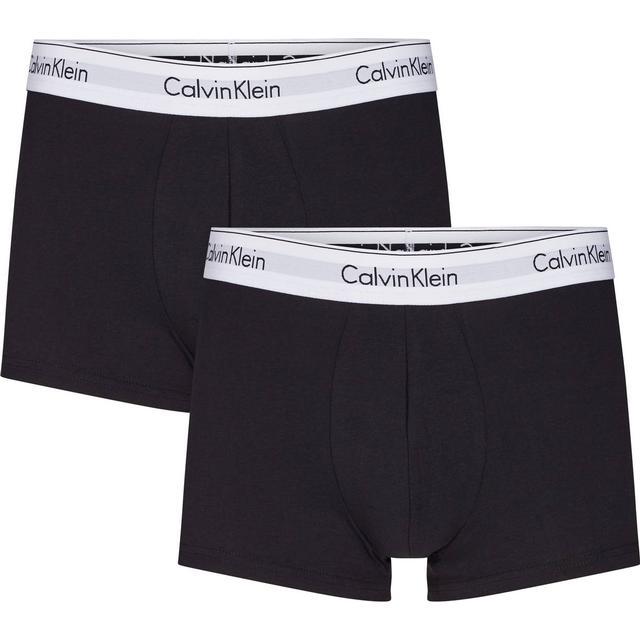 Calvin Klein Modern Cotton Trunks 2-pk Sort