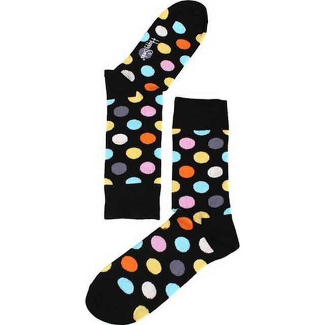 Happy Socks Big Dot Sock - Black