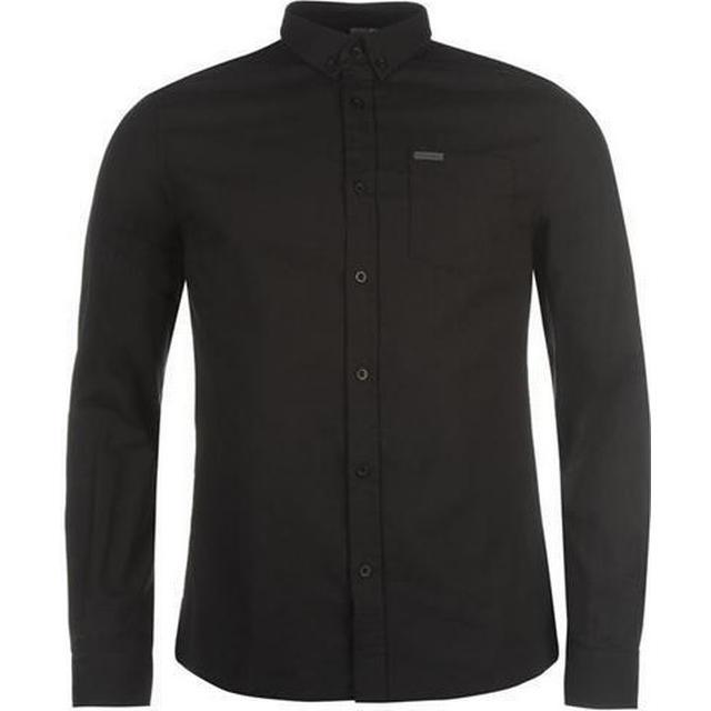 Firetrap Basic Oxford Shirt - Black