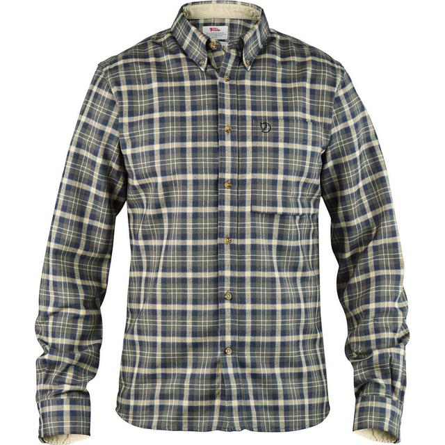 Fjällräven Stig Flannel Shirt - Sort