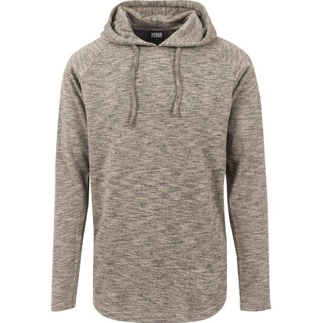 Urban Classics Melange Shaped Hoody - Sand/Black