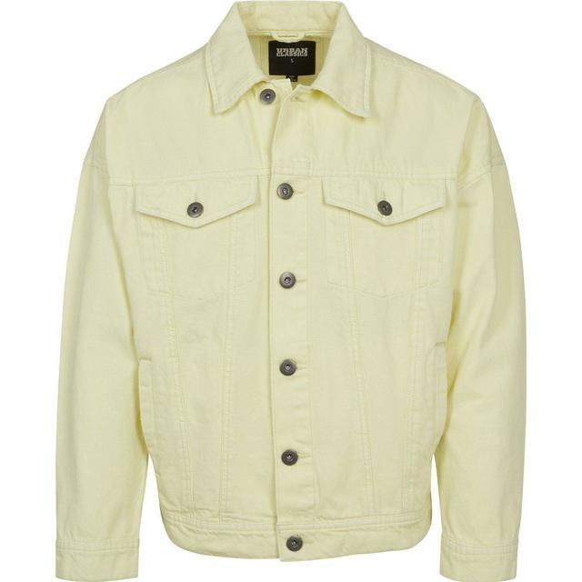 Urban Classics Oversize Garment Dye Jacket - Powderyellow