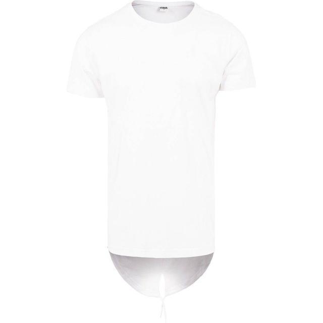 Urban Classics Long Tail Tee - White/White