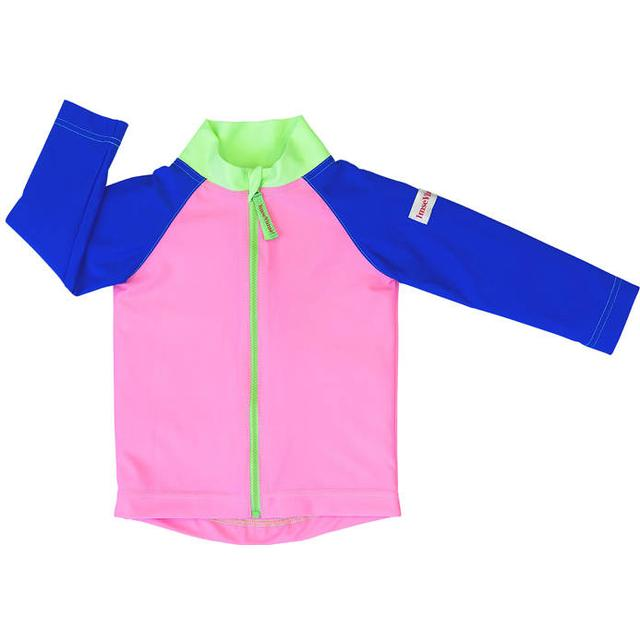 Imsevimse Swim & Sun Jacket - Pink/Blue/Green