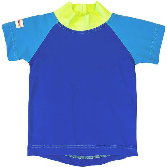Imsevimse Swim & Sun T-shirt - Blue/Green