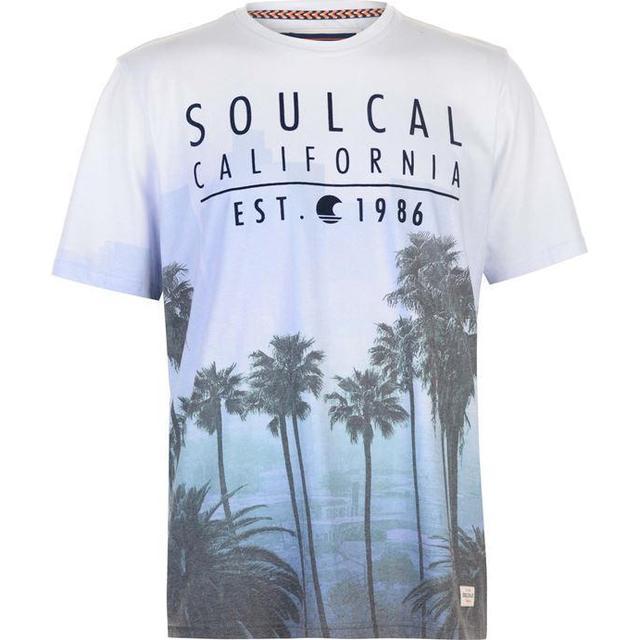 SoulCal Sublime T-shirt Blue/Purple