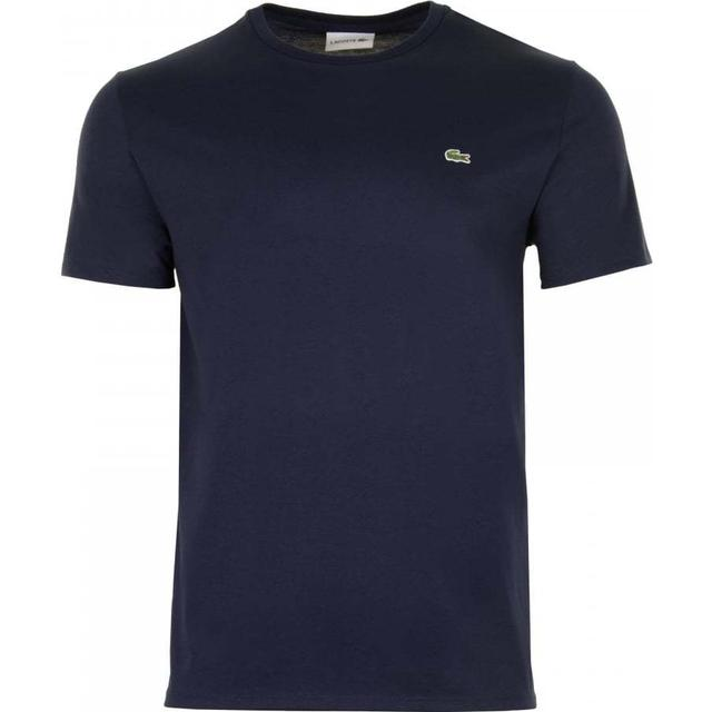 Lacoste Crew Neck Pima Cotton Jersey T-shirt - Navy Blue