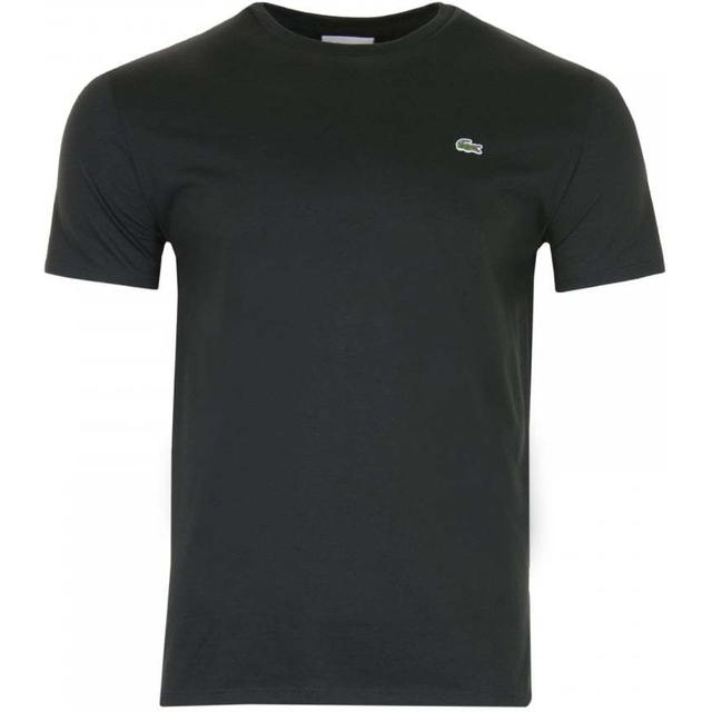 Lacoste Crew Neck Pima Cotton Jersey T-shirt - Black