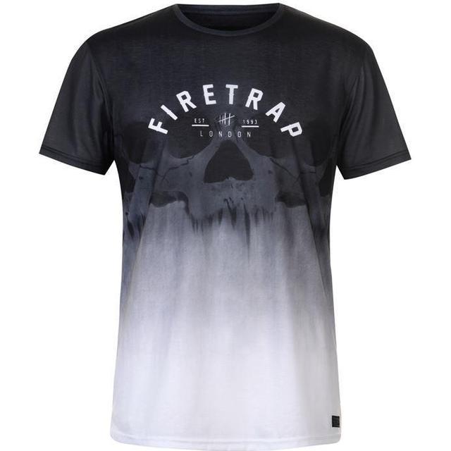Firetrap Sub T-shirt - Gradient Skull