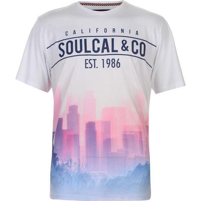 SoulCal Sublime T-shirt Blue/Pink