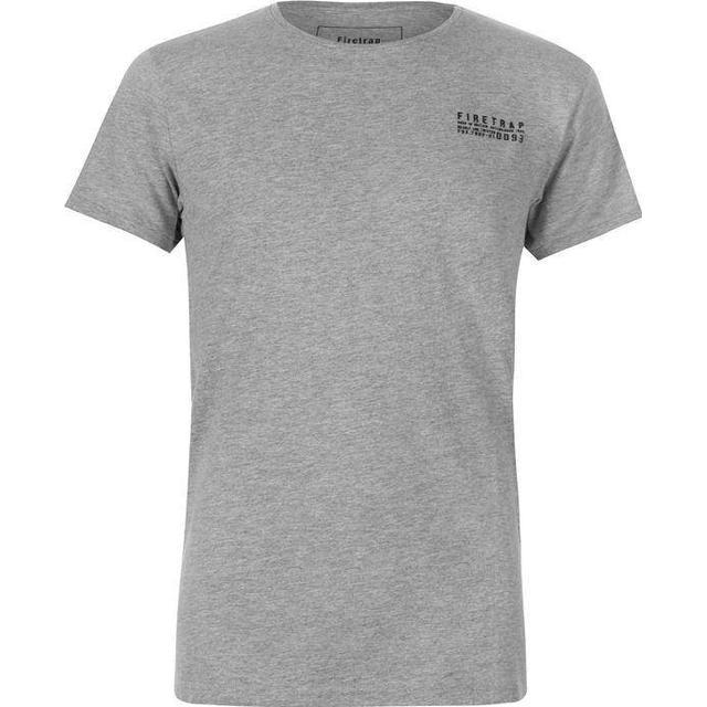 Firetrap Trek T-shirt - Grey Marl