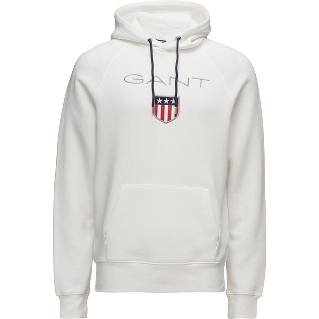 Gant Original Shield Sweat Hoodie - Eggshell
