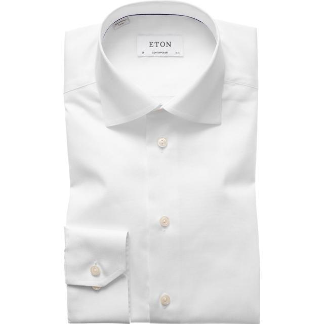 Eton Signature Twill Shirt White