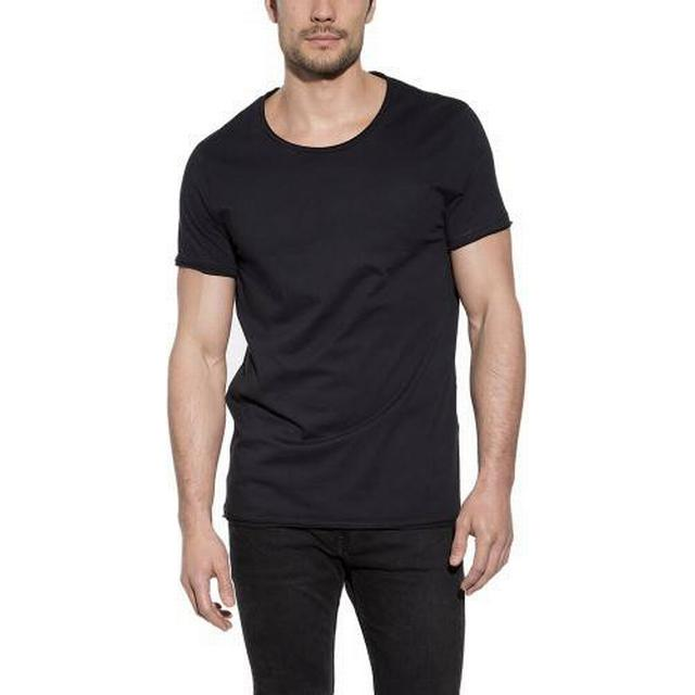 Bread and Boxers Crew Neck Relaxed T-shirt - Black