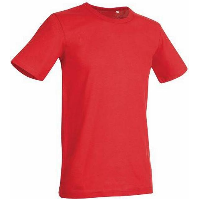 Stedman Morgan Crew Neck T-shirt - Crimson Red