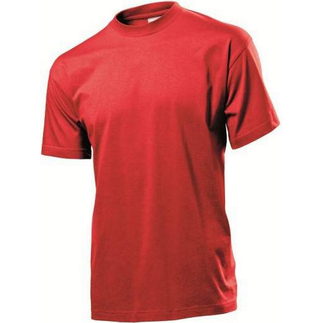 Stedman Classic Crew Neck T-shirt - Scarlet Red