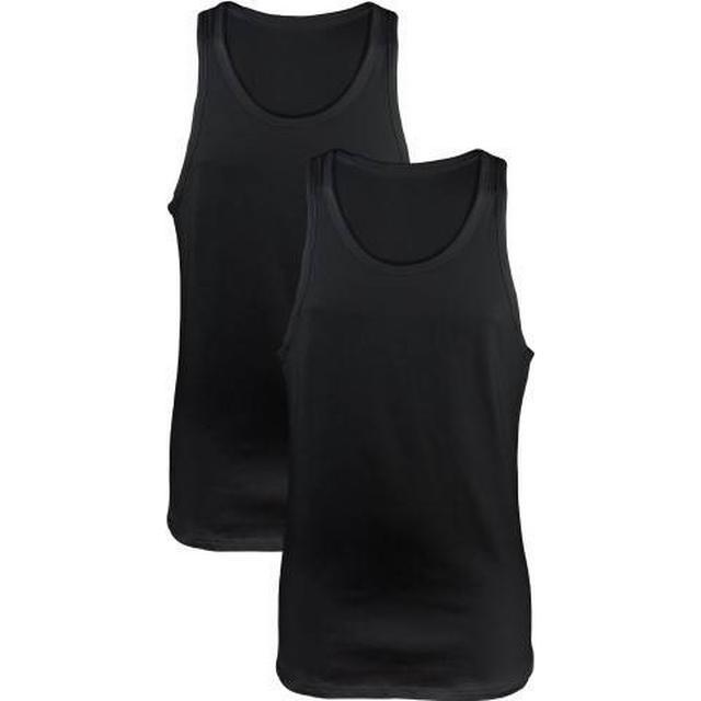 Calvin Klein Modern Cotton Tank Tops 2-pack Black