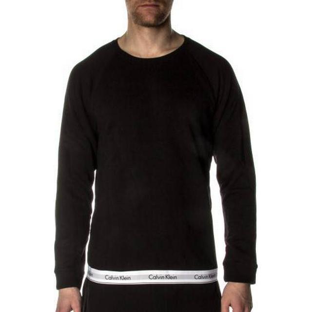 Calvin Klein Modern Cotton Sweatshirt Sort