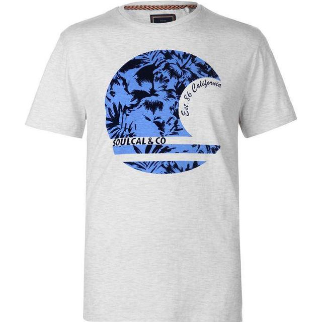SoulCal Fashion T-shirt - Ash Marl