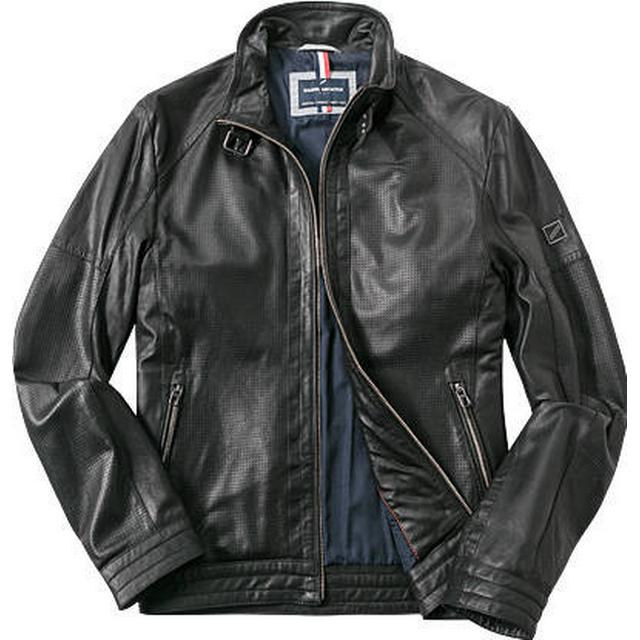Daniel Hechter Leather Jacket - Black