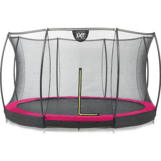 Exit Silhouette Ground Trampoline 366cm + Safety Net