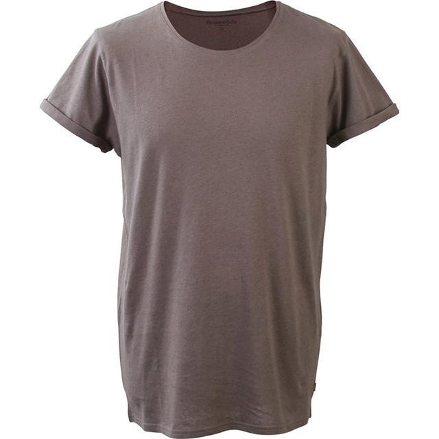 Resteröds Jimmy Cotton-Linen T-shirt Grey