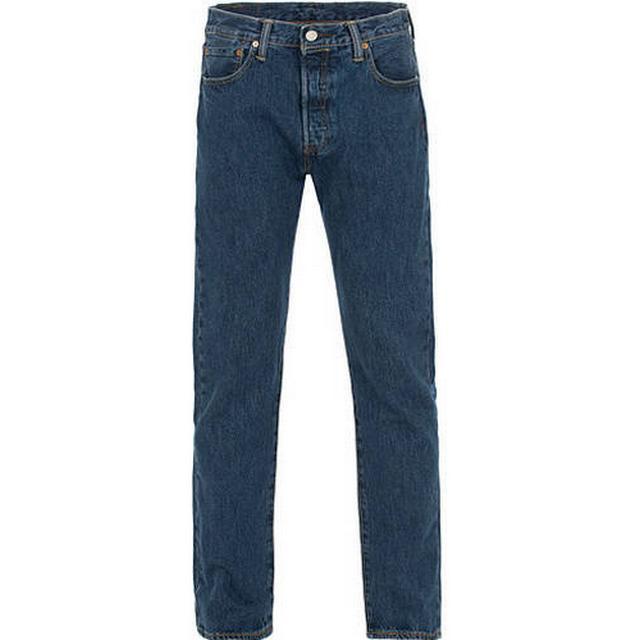 Levi's 501 Original Fit Stretch Jeans - Dark Stonewash