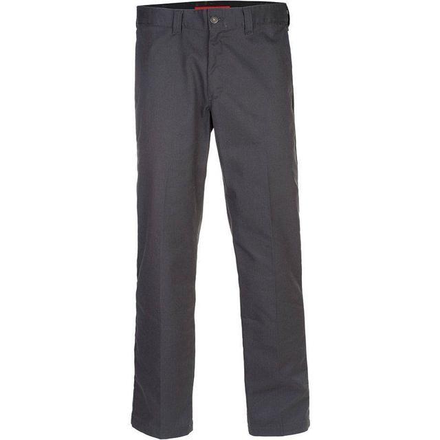 Dickies '67 Slim Fit Straight Leg Work Pants - Charcoal Gray