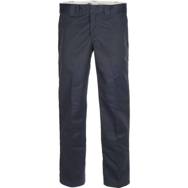 Dickies Slim Fit Straight Leg Work Pants - Dark Navy