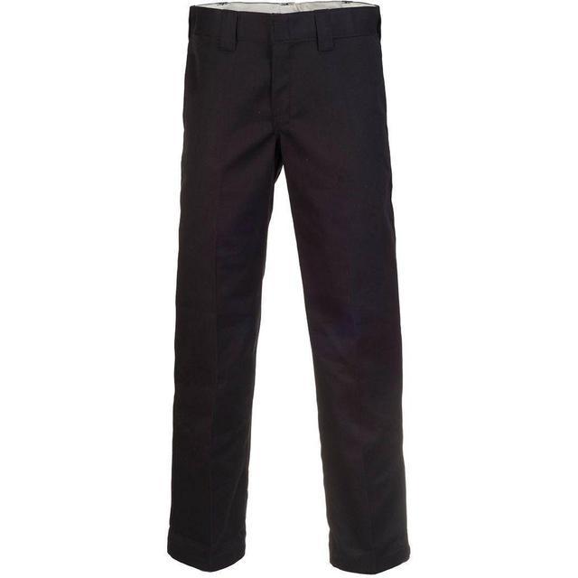 Dickies Slim Fit Straight Leg Work Pants - Black