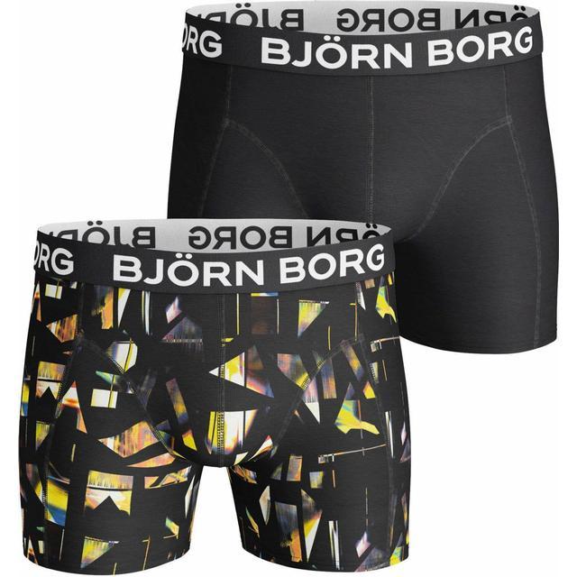 Björn Borg Boxer Splinter Shorts 2-pack - Black Pattern