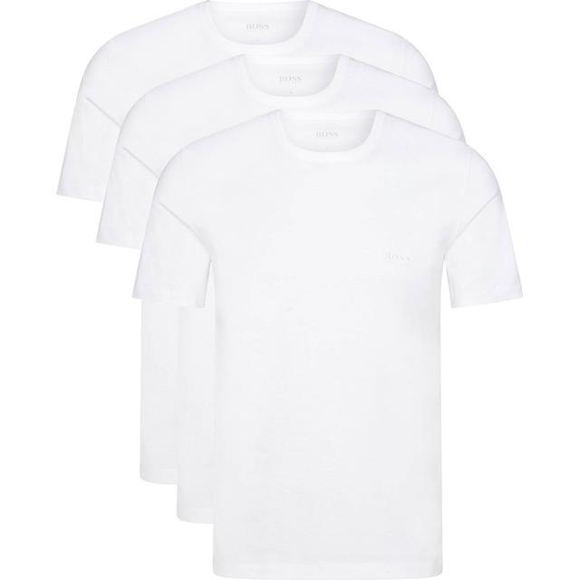 Hugo Boss Regular-Fit Cotton T-shirts 3-pak Hvid