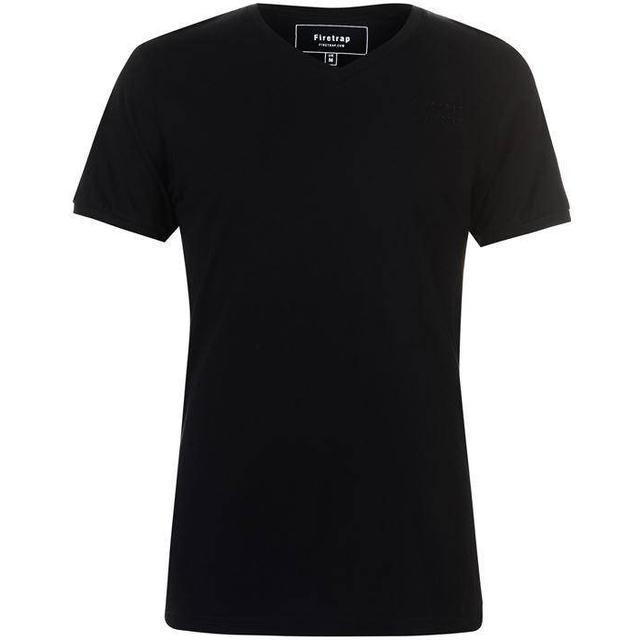 Firetrap Path T-shirt - Black