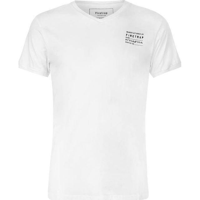 Firetrap Path T-shirt White