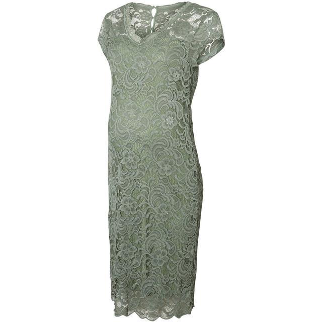Mama.licious Lace Maternity Dress Green/Green Bay (20006241)