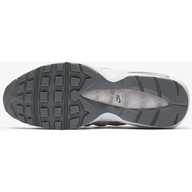 Herre Nike Air Max 95 Essential Hvid Wolf Grå Cool Grå Sort