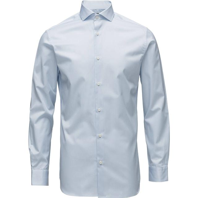 Selected Slim Fit Shirt Blue/Light Blue