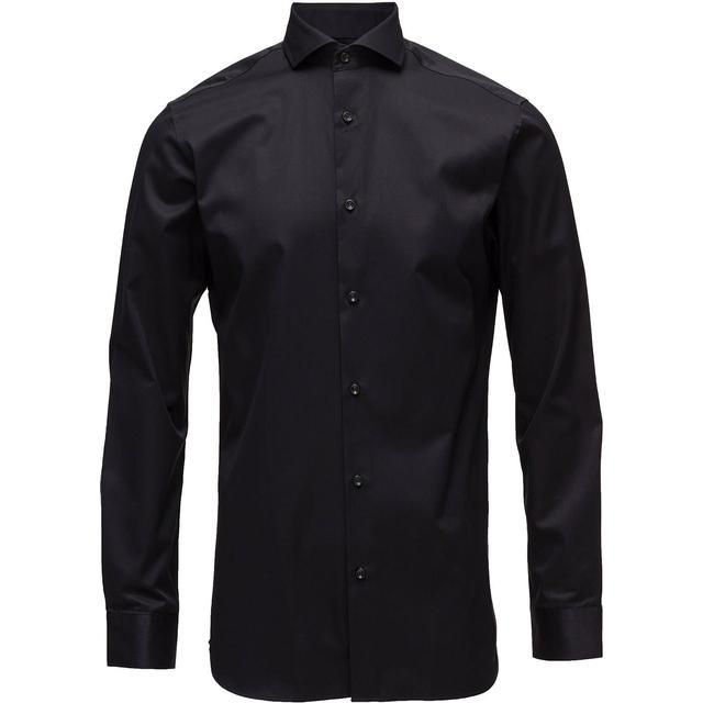 Selected Slim Fit Shirt - Black/Black
